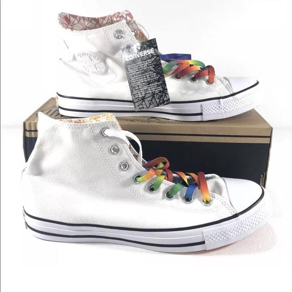 070b7d906099 Converse Gay Pride LGBT Hi Top Limited 157375C
